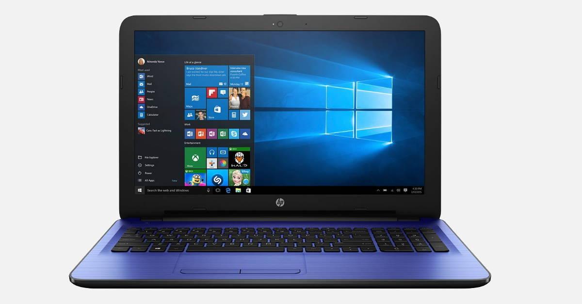 HP laptop 15-AY544TU Reviews Windows 10 4GB 1TB